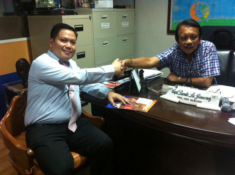 Attorney Legaspi Courtesy Call